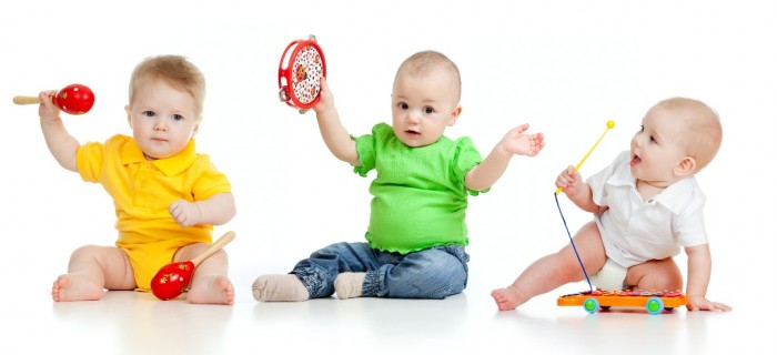 sf-babies-playing-music-toys1 Do You Know How to Choose the Right Toys & Games for Your Child?