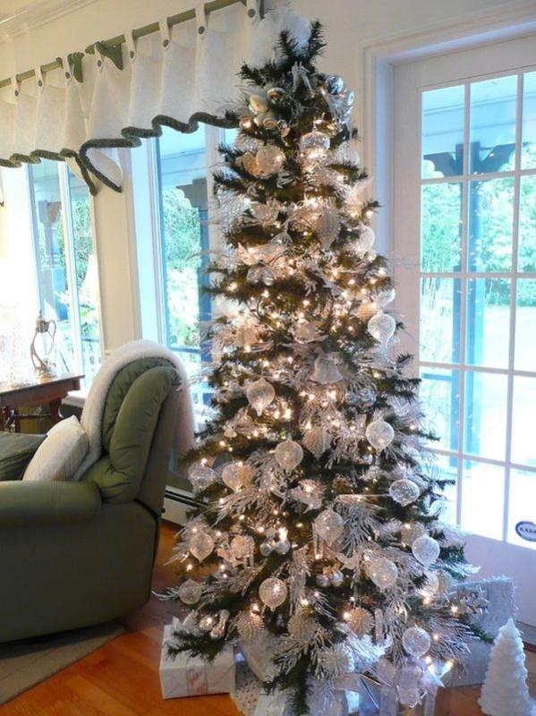 snow-christmas-tree 79 Amazing Christmas Tree Decorations