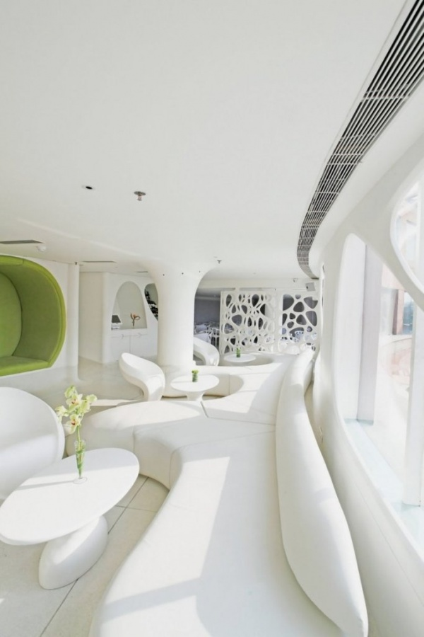 sofa-of-Modern-Restaurant-with-White-and-Soft-Organic-Interior Do You Dream of Starting and Running Your Own Restaurant Business?