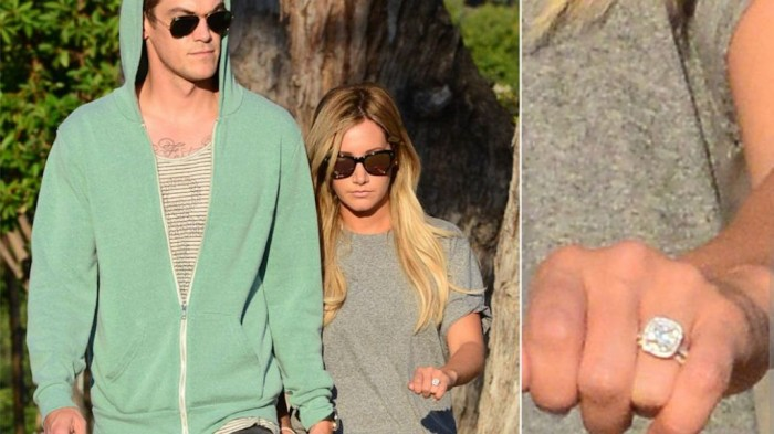 spl_ashley_tisdale_christopher_french3_tk_130814_16x9_992 35+ Fascinating & Stunning Celebrities Engagement Rings for 2019