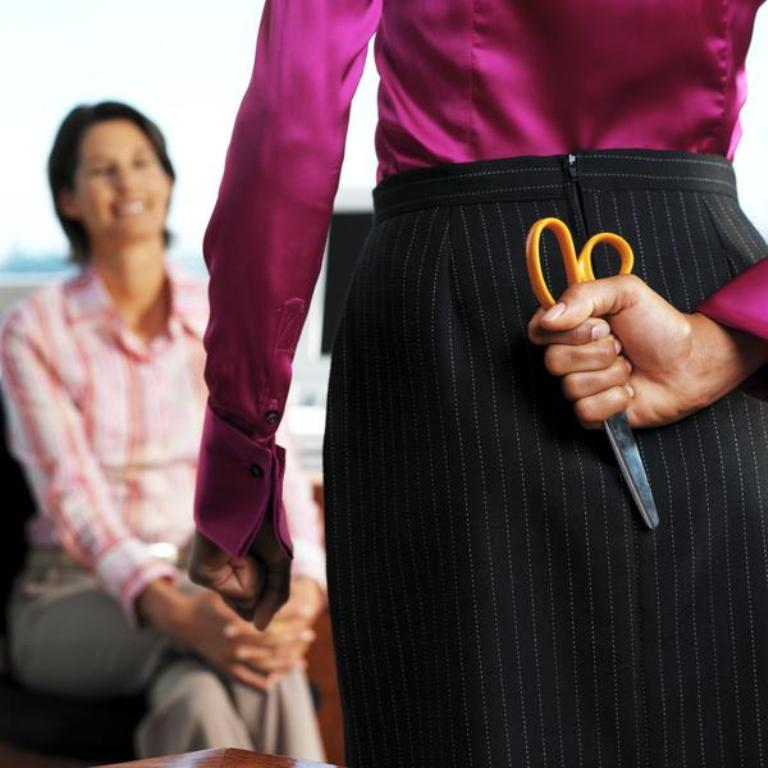 stk141230rke Tips to Control the Annoying Jealousy Among Co-workers at Workplace!!