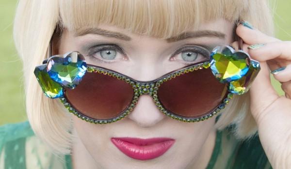 sunglasses_03 39 Most Stylish Gold and Diamond Sunglasses in 2021