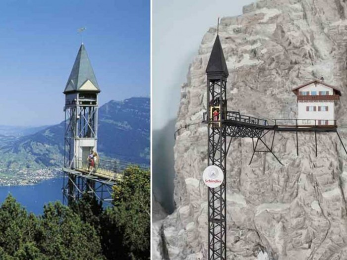 switzerland The World's 20 Weirdest & Craziest Elevators