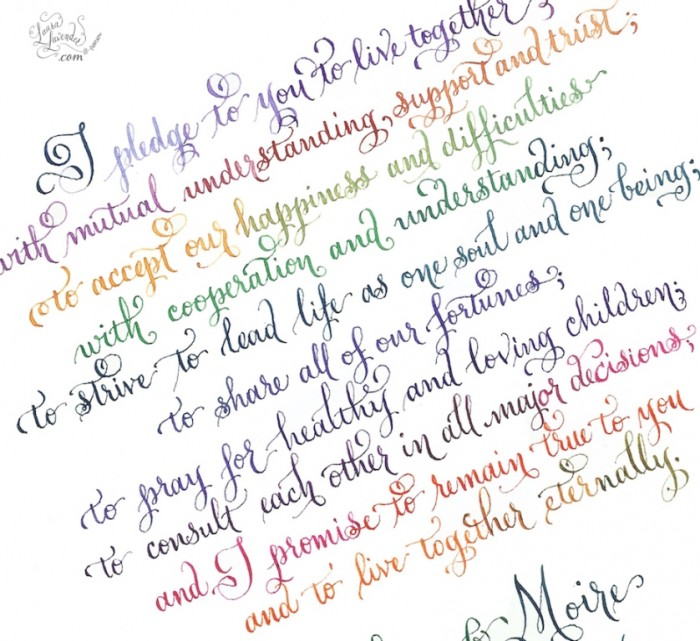 wedding-vows. Write Your Wedding Vows on Your Own to Be More Personal & Romantic