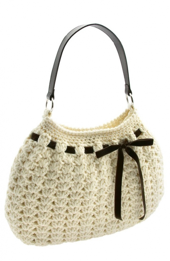 white-color-crochet-bags 10 Fascinating Ideas to Create Crochet Patterns on Your Own