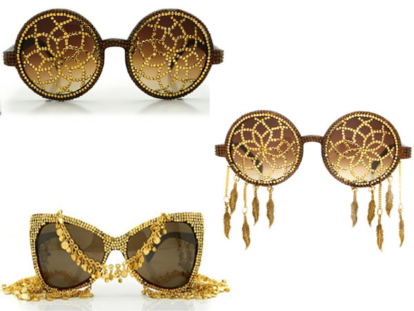 would_you_wear_24k_gold_crys 39 Most Stylish Gold and Diamond Sunglasses in 2018