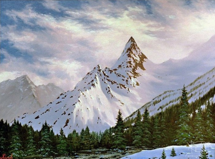 www.PaintingsGallery.pro_Adamow_Alexis_The_Altai_Mountains_medium_222875 The Remotest Bathroom in the World, Do You Know Where Is It?