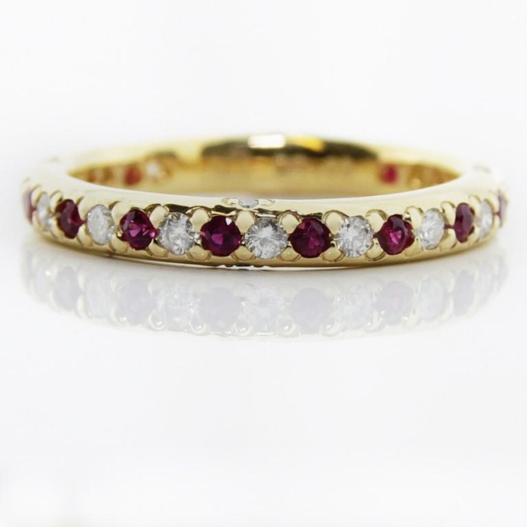 01-13-104_flat 55 Fascinating & Marvelous Ruby Eternity Rings