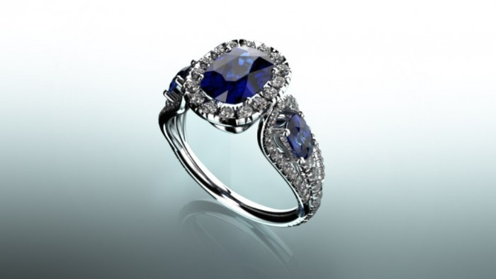 05 60 Magnificent & Breathtaking Colored Stone Engagement Rings