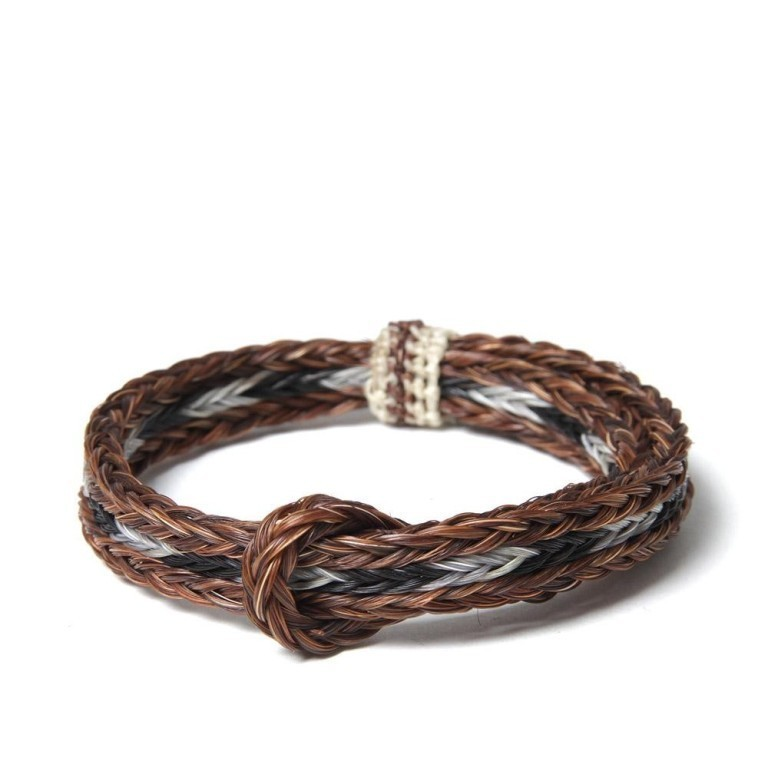 06-11-2012_chamula_braidedhorsehair_brownblackgrey1 45 Elegant & Breathtaking Horse Hair Bracelets