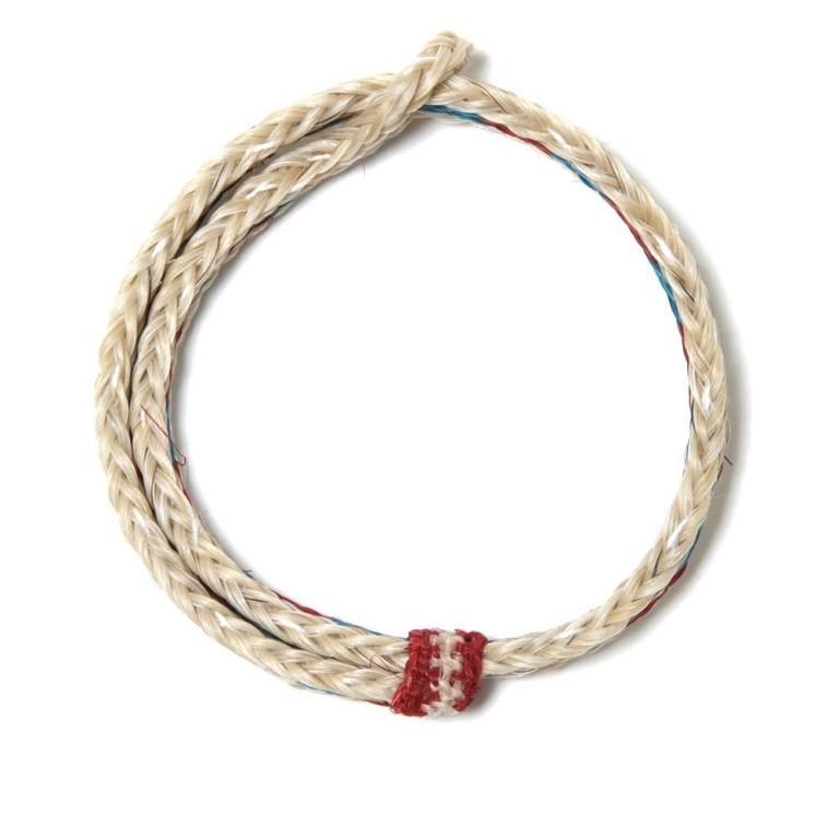 06-11-2012_chamula_braidedhorsehair_whiteredturquoise3 45 Elegant & Breathtaking Horse Hair Bracelets