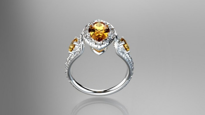 06 60 Magnificent & Breathtaking Colored Stone Engagement Rings