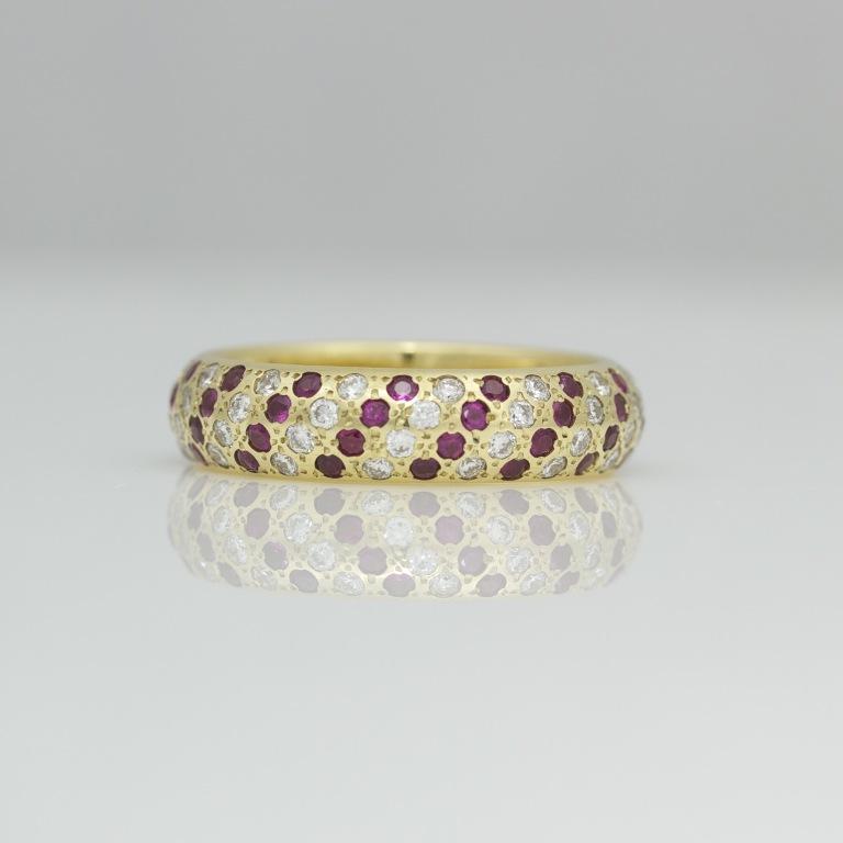0879 55 Fascinating & Marvelous Ruby Eternity Rings