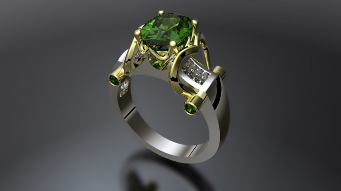 09-1024x576 60 Magnificent & Breathtaking Colored Stone Engagement Rings