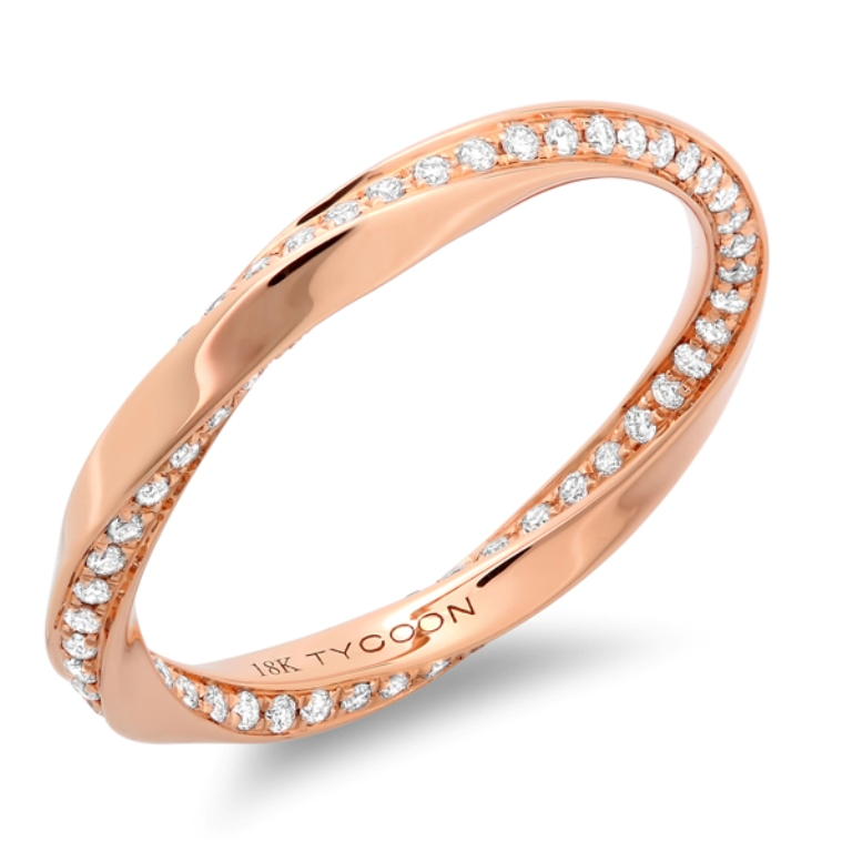 105-1-og Top 60 Stunning & Marvelous Rose Gold Wedding Bands