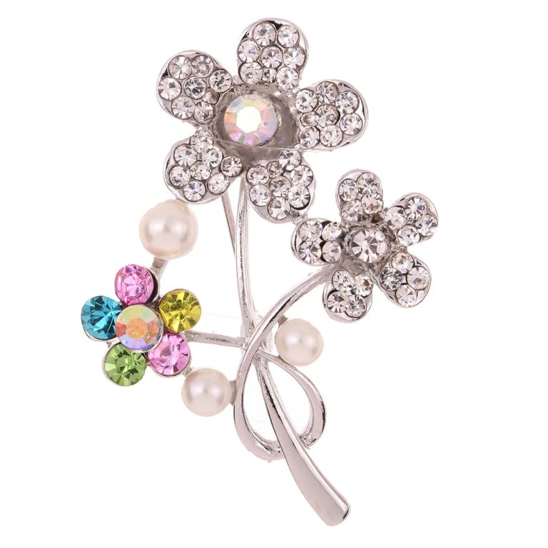1067Y0100 50 Wonderful & Fascinating Pearl Brooches