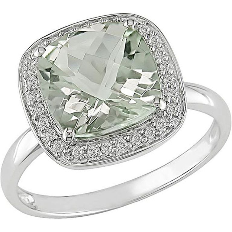 11496411_1 30 Fascinating & Dazzling Green diamond rings