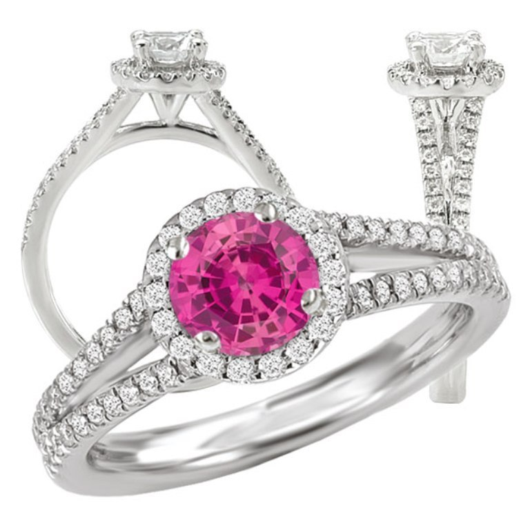 117073ps 60 Magnificent & Breathtaking Colored Stone Engagement Rings