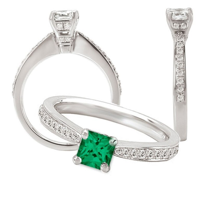 117108sem 60 Magnificent & Breathtaking Colored Stone Engagement Rings