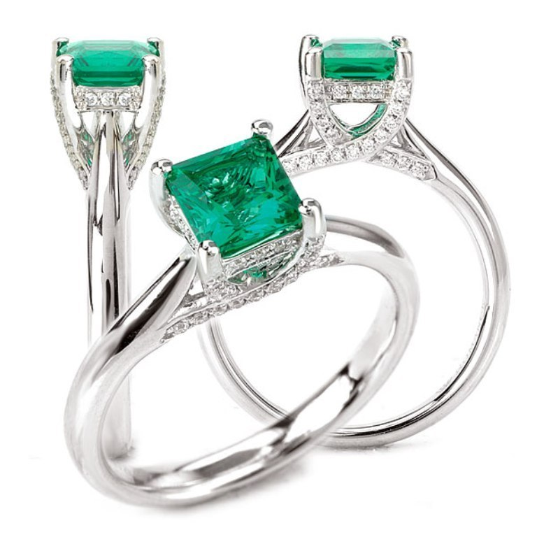 117224-100em 60 Magnificent & Breathtaking Colored Stone Engagement Rings