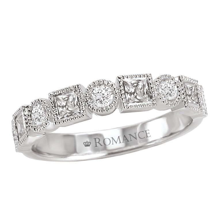 117226-w 60 Breathtaking & Marvelous Diamond Wedding bands for Him & Her