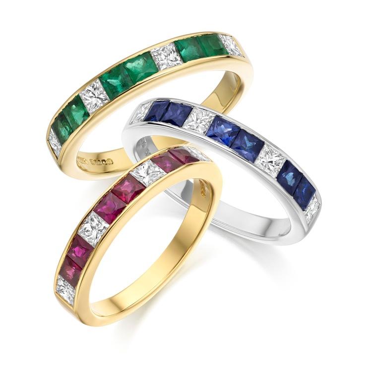 11_image 55 Fascinating & Marvelous Ruby Eternity Rings