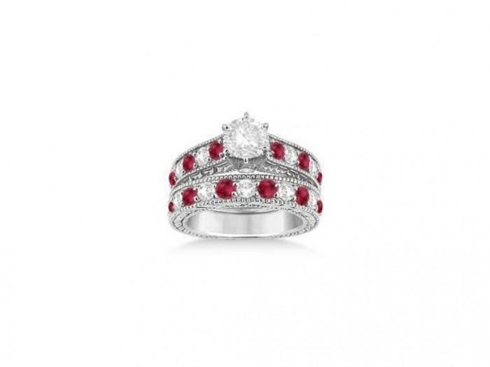 1207379297_640 35 Dazzling & Catchy Bridal Wedding Ring Sets
