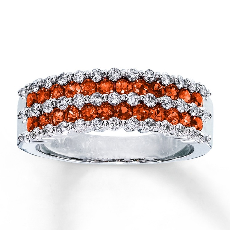 133096204_MV_ZM_JAR1 40 Elegant Orange Sapphire Rings for Different Occasions