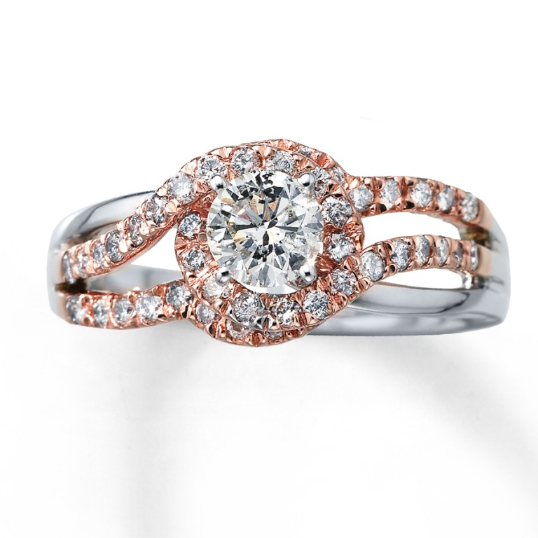 1353448750 Top 60 Stunning & Marvelous Rose Gold Wedding Bands