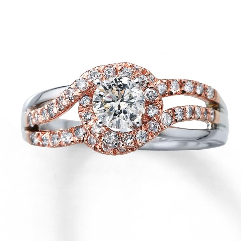 1353448750 Top 60 Stunning & Marvelous Rose Gold Wedding Bands