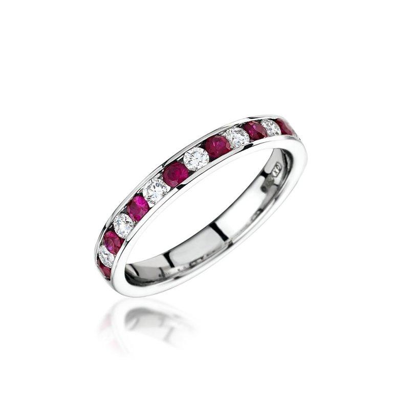 1378478417-48064600 55 Fascinating & Marvelous Ruby Eternity Rings