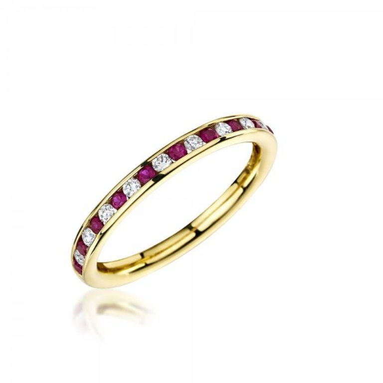 1382629983-97147400 55 Fascinating & Marvelous Ruby Eternity Rings