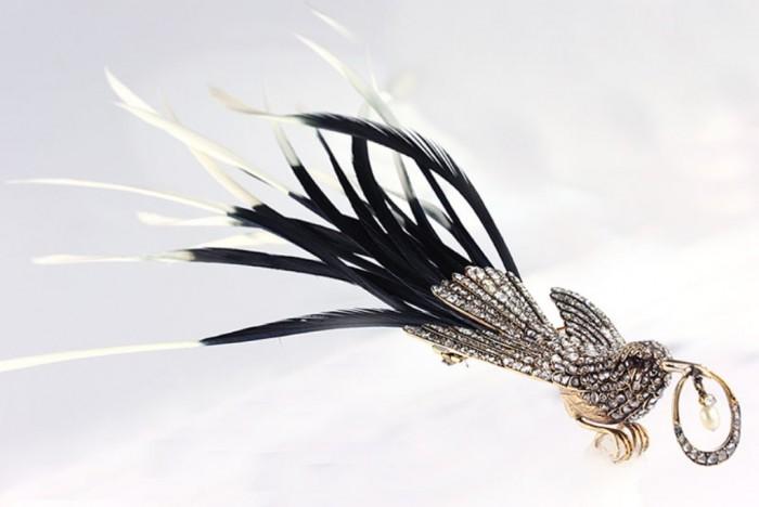 13859-1 35 Elegant & Wonderful Antique Diamond Brooches