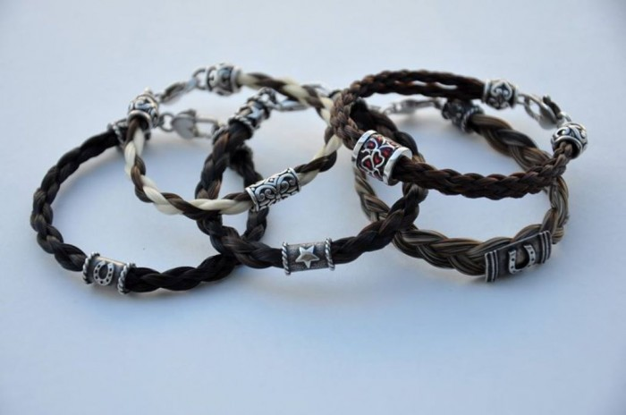 1540545_777378098942371_1696609910_o 45 Elegant & Breathtaking Horse Hair Bracelets