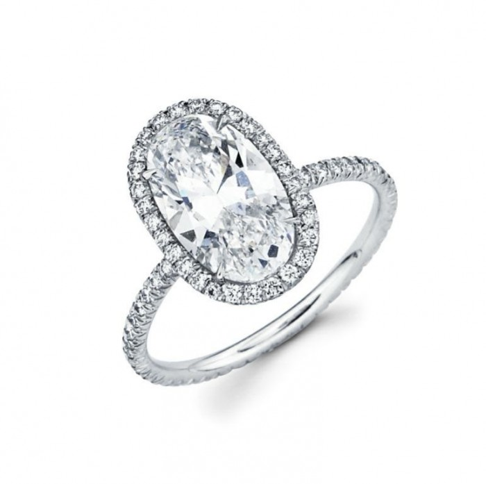 15905_ovaldiamond_engagring 50 Unique Vintage Classic Diamond Engagement Rings