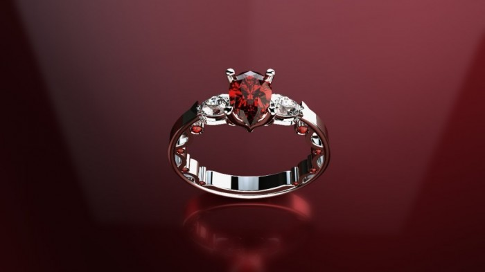 16-1024x576 60 Magnificent & Breathtaking Colored Stone Engagement Rings