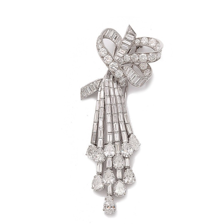 16671_6-1024x1024 35 Elegant & Wonderful Antique Diamond Brooches