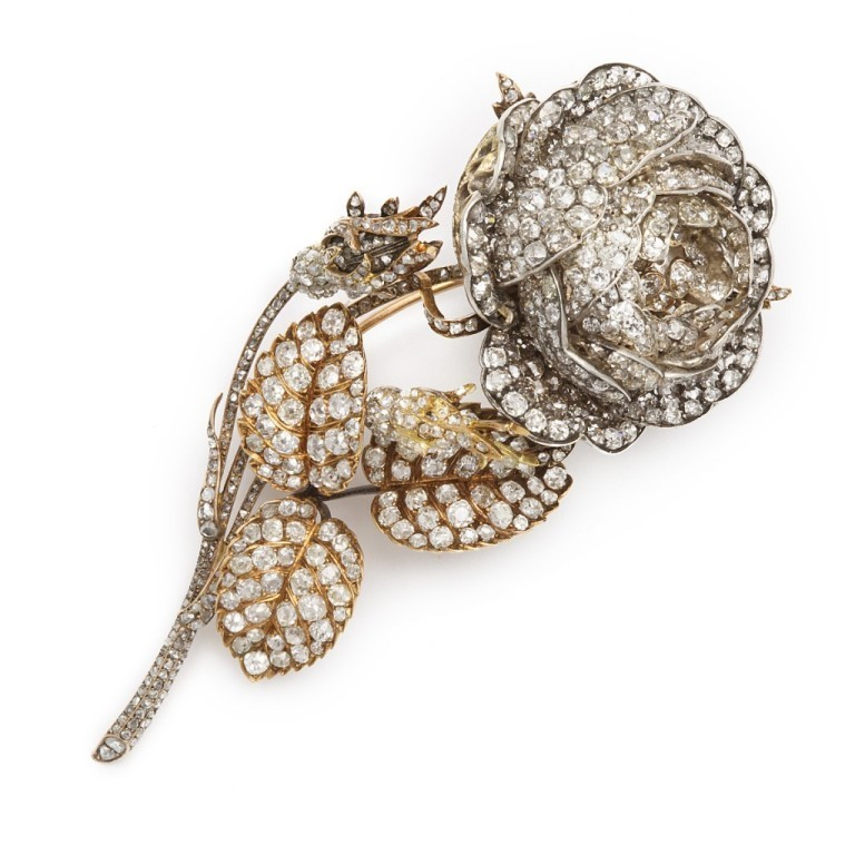 16873_1-1024x1024 35 Elegant & Wonderful Antique Diamond Brooches