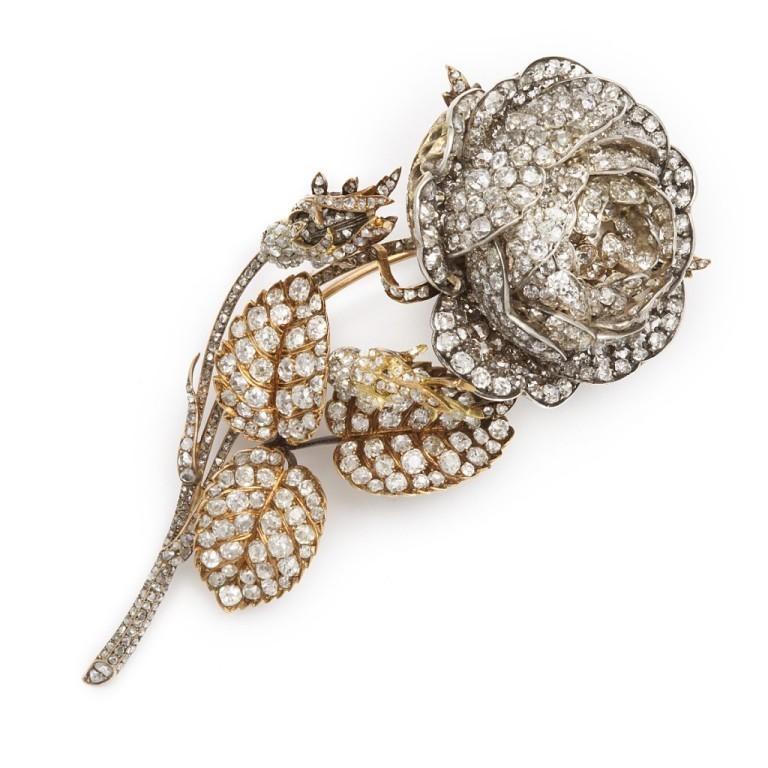 16873_1-1024x1024 35 Elegant & Wonderful Antique Diamond Brooches