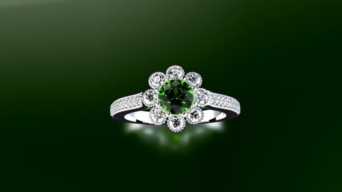 17-1024x576 60 Magnificent & Breathtaking Colored Stone Engagement Rings