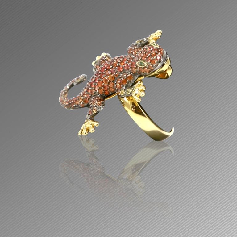 170111070528 40 Elegant Orange Sapphire Rings for Different Occasions