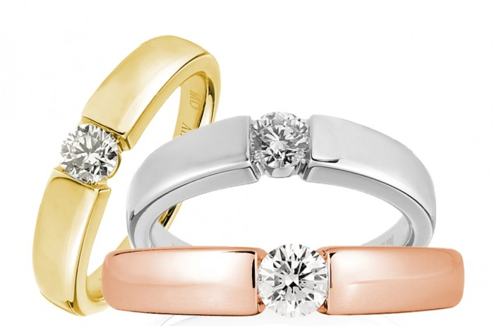 1815group Top 60 Stunning & Marvelous Rose Gold Wedding Bands