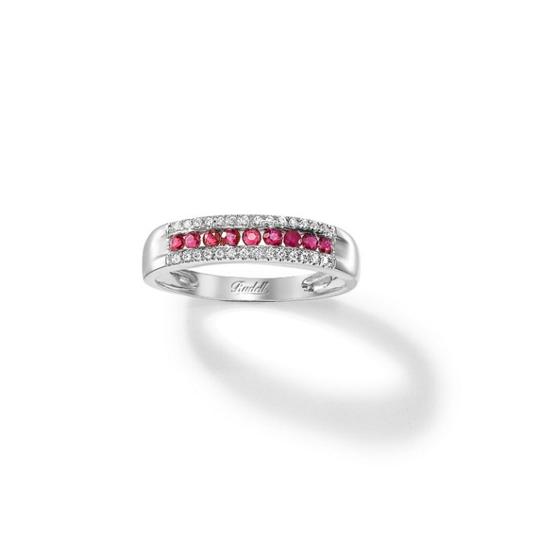 18ct-white-gold-ruby-and-daimond-eternity-ring-0360-1097 55 Fascinating & Marvelous Ruby Eternity Rings