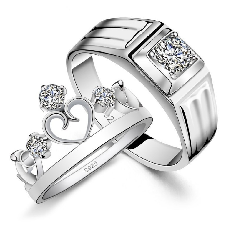 1_6_3 35 Dazzling & Catchy Bridal Wedding Ring Sets