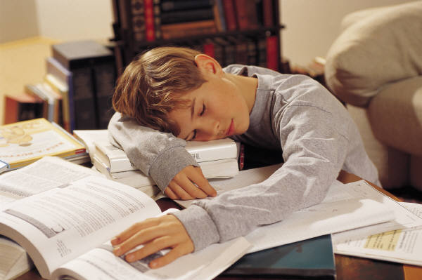 2-385_sleep_student_homework_e_h 8 Tips To Become An Excellent Student