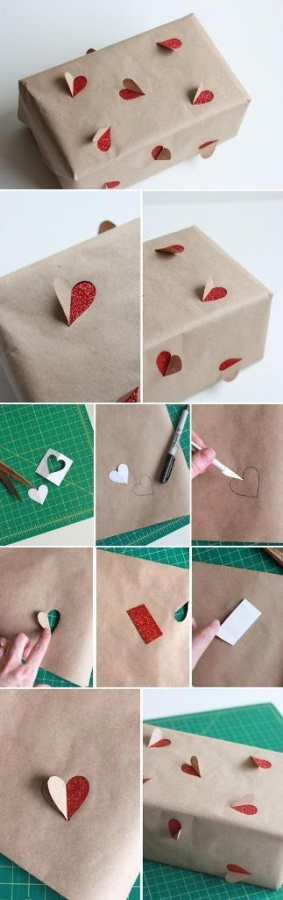 2-simple-valentines-day-gift-wrapping-ideas-L-zIGx8i 40 Creative & Unusual Gift Wrapping Ideas