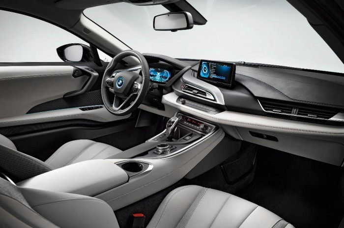 2014-BMW-i8-Interior-View-Seats-Steering-Dash 2014 BMW Cars for More Luxury to Enjoy Driving on the Road