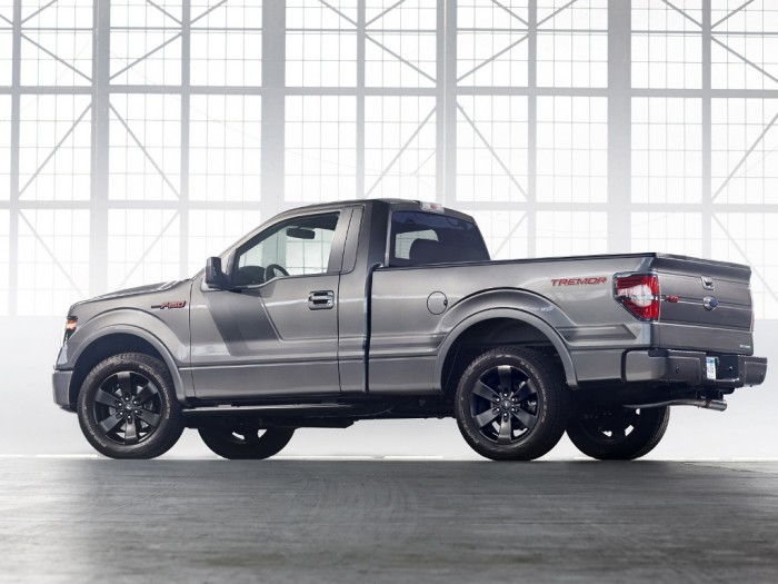 2014-Ford-F-150-Tremor-Rear-Side Get Your Job Done Efficiently & Easily with 2014 Ford F-150