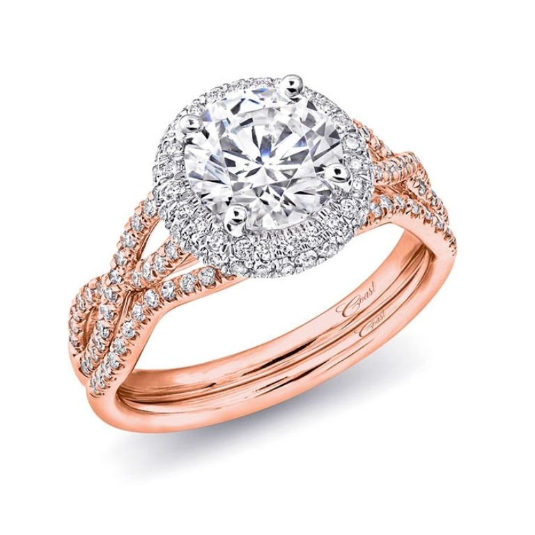 2486_0 Top 70 Dazzling & Breathtaking Rose Gold Engagement Rings
