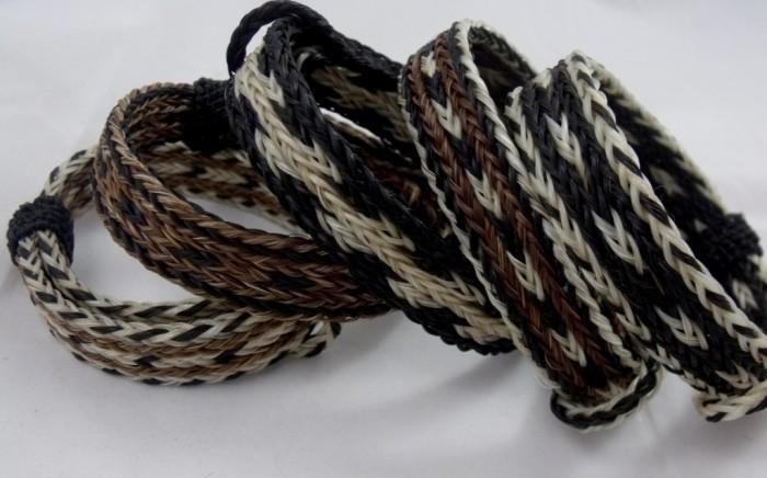 2ecdmkj 45 Elegant & Breathtaking Horse Hair Bracelets